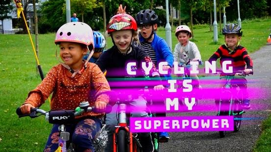 Cycling is my Superpower – Polish Embassy in Ireland Initiative