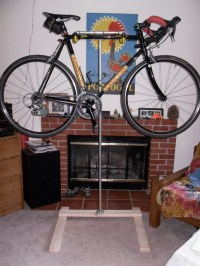 Homemade Bicycle Stand | The Sustainable Cyclist