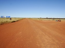 And the Tanami looking the way I had come. It was a diabolical ride