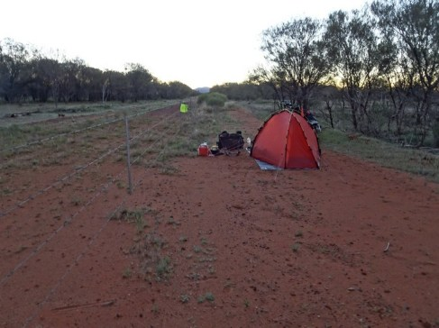 Camp Number One. Quite a few to go. Good to be back in the bush
