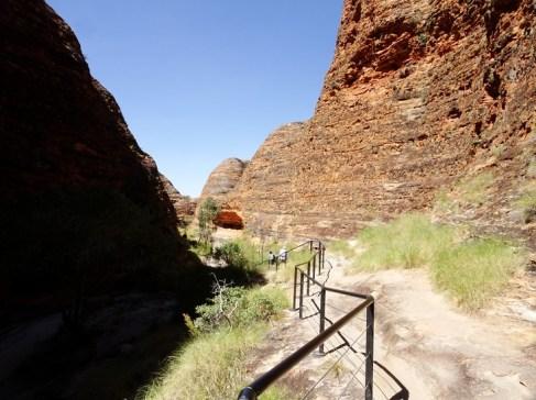 Walkway through the gorge