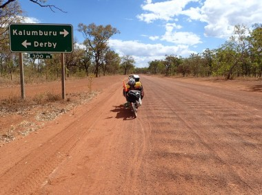 The Central Kimberley Plateau. Flat and fast