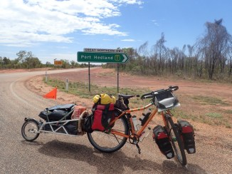 Started. The Great Northern Highway