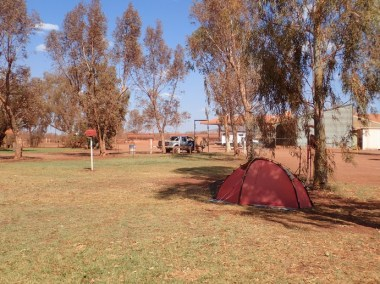 Thin grass, scant shade, no pool, very expensive. Welcome to Auski 'Tourist' Village
