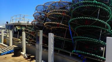 Crab nets. I assume