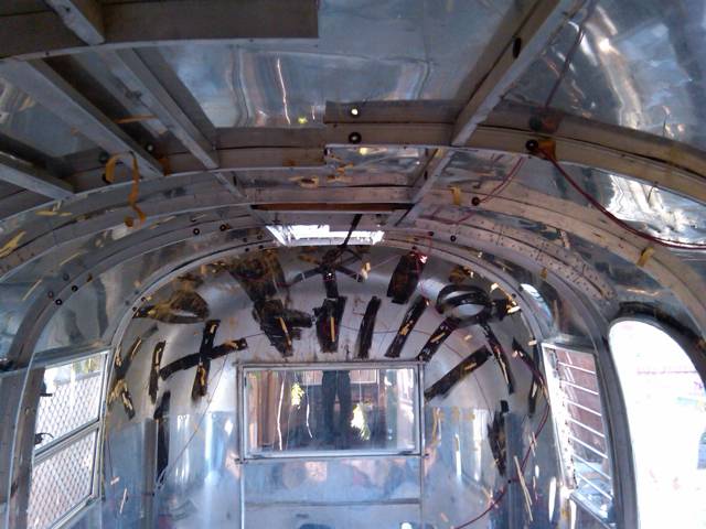 1963 Airstream Safari  The CycloContractor