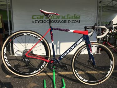 Here's Stephen Hydes Cannondale Super X Crossbike