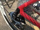 SRAM provide the groupset. With Hyde running the standard CX1 Setup with an 11-32 Cassette