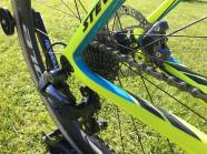 Shimano Ultegra 6870 Rear Mech shifts the chain between the 11 sprockets on Rouiller's 11-28 Shimano Cassette
