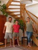 Hébergés chez Christina et Clemens à Vienne
