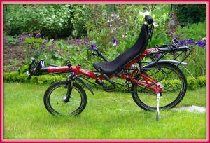 Le vélo rouge