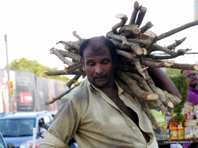 Livreur de bois