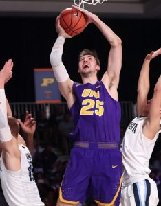 Nov paradise island bahamas northern iowa panthers forward bennett koch shoots against the villanova wildcats during first half in also preview three things on state  cyclonefanatic rh