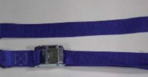 "1.5 inch Cam Buckle Tiedown with ""S"" Hooks"