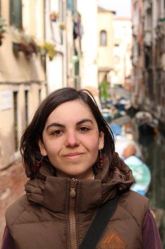Sarah à Venise