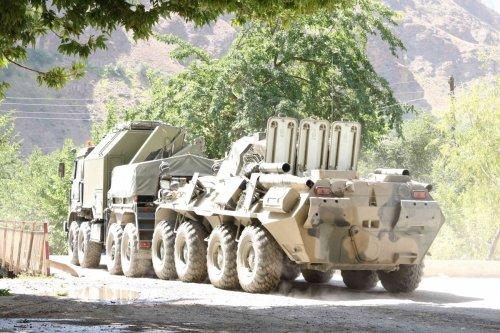 Convoi militaire russe