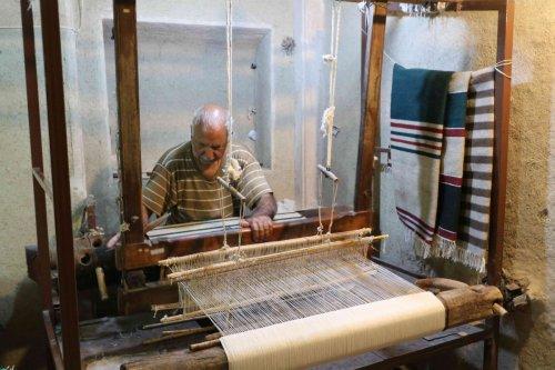 Fabrication de kilim