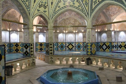 Hammam royal de Kashan