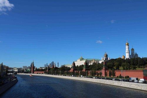 Le Kremlin et la Moscova