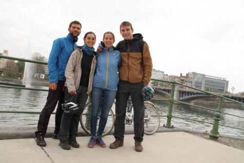 Liège avec Paola et Guillaume