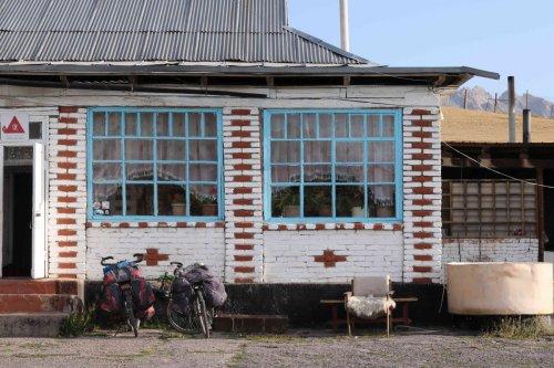 Maison kirghize
