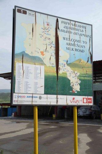 Route de la soie Arménienne
