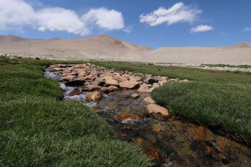 Ruisseau à Zorkul