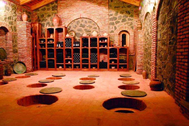 georgia wine cellar