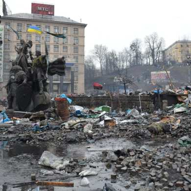 Our reporter from Kiev: tales from the Maidan 10