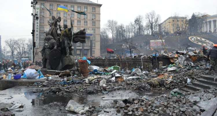 Our reporter from Kiev: tales from the Maidan 26