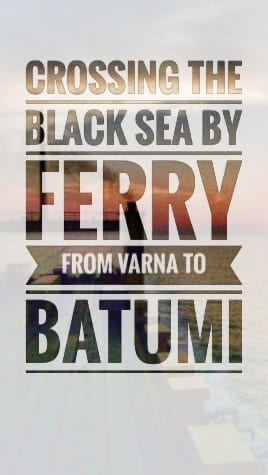 ferry black sea