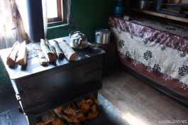 Svan house interior