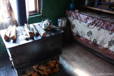 Svan house interior