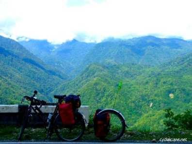 Climbing the big Caucasus