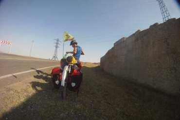 The Unforgiving Sun: Bicycle Touring Azerbaijan's Desert 14