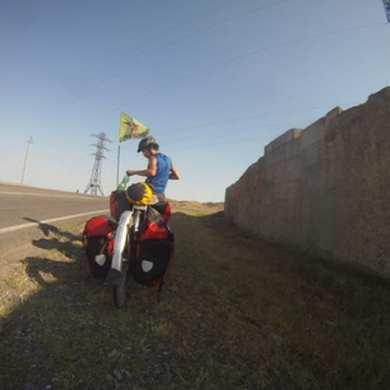 The Unforgiving Sun: Bicycle Touring Azerbaijan's Desert 12