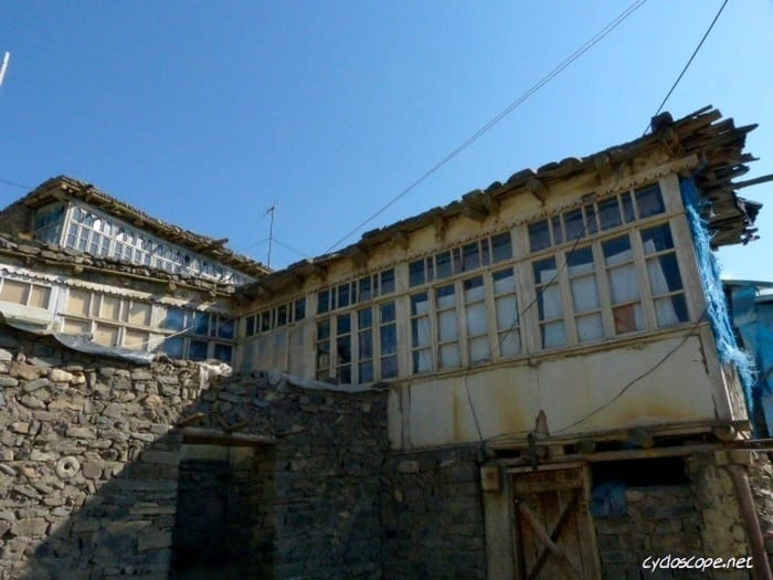 traditional house Xinaliq Azerbaijan