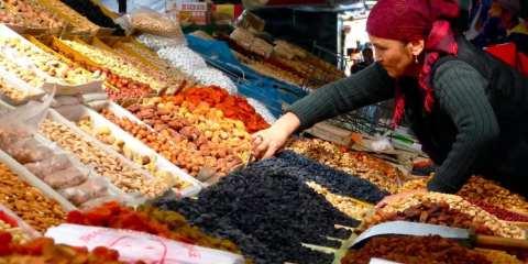 Osh Bazar in Bishkek