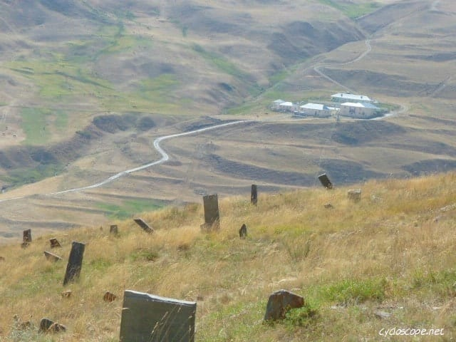 xinaliq graves cemeteries tombs