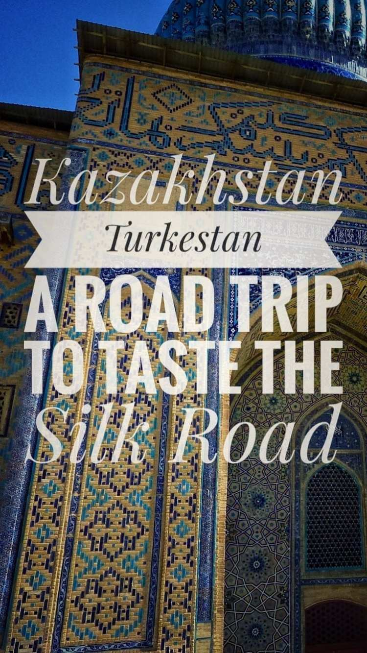 travel silk road turkestan kazakhstan