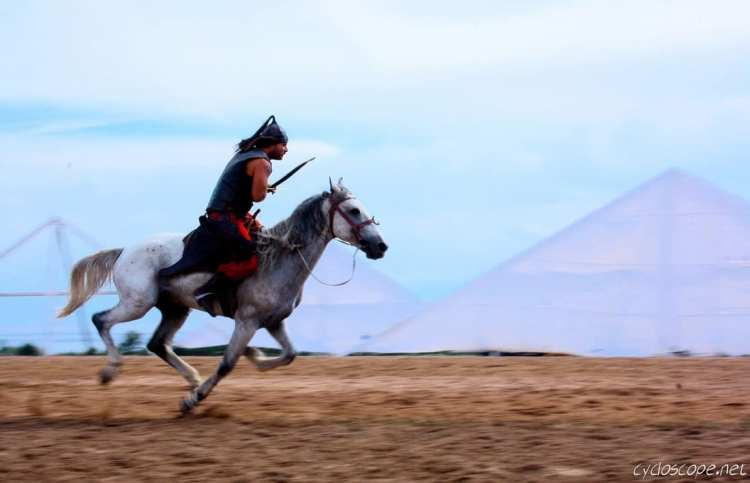 turkish nomad games horseback archery