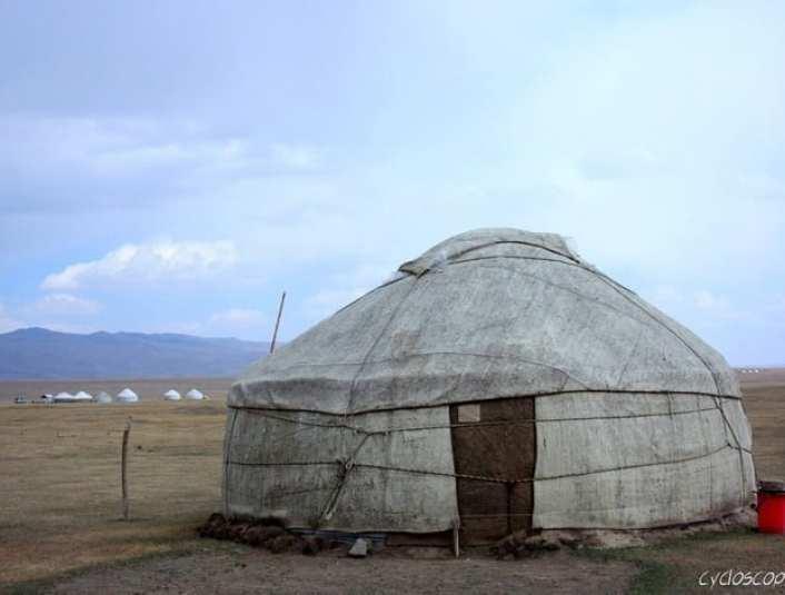 cicloturismo kyrgyzstan song kul