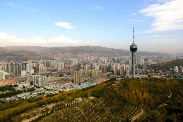 Xining - capitale del Qinghai cina