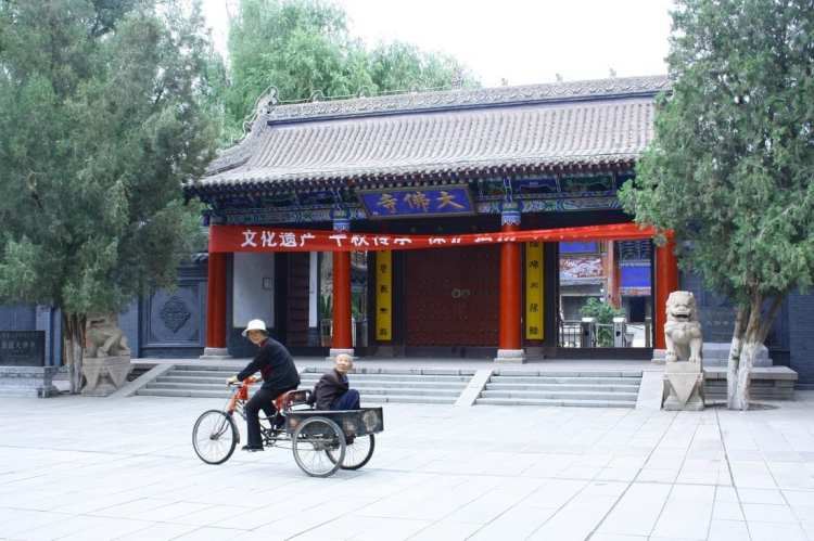 Zhangye, Gansu, sleeping Buddha