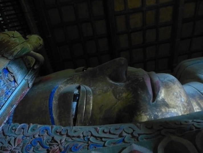 sleeping Buddha, Zhangye biggest in China