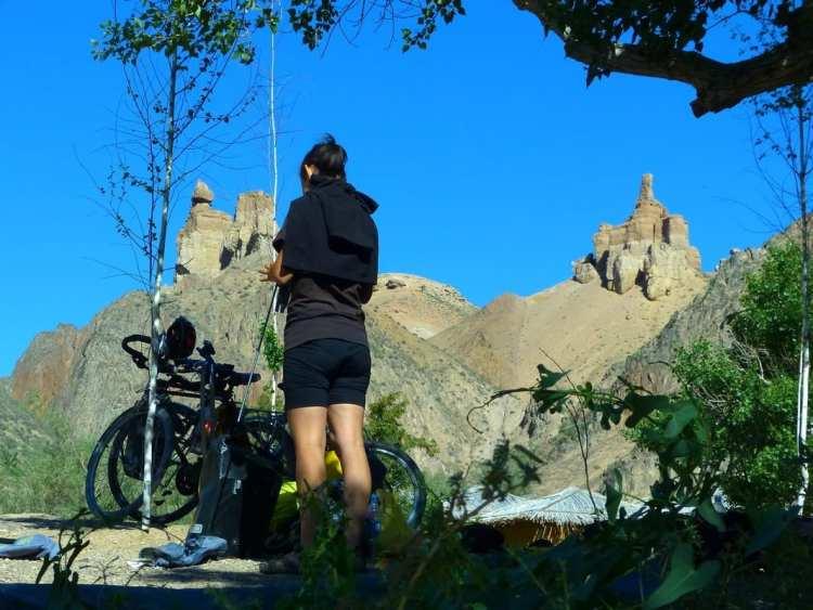 camping Charyn Canyon