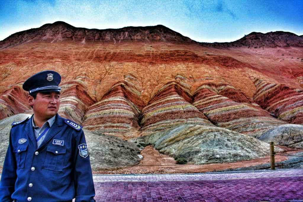 montagne colorate cina Danxia Shan Zhangye