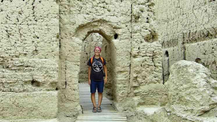 Città antica Via della Seta