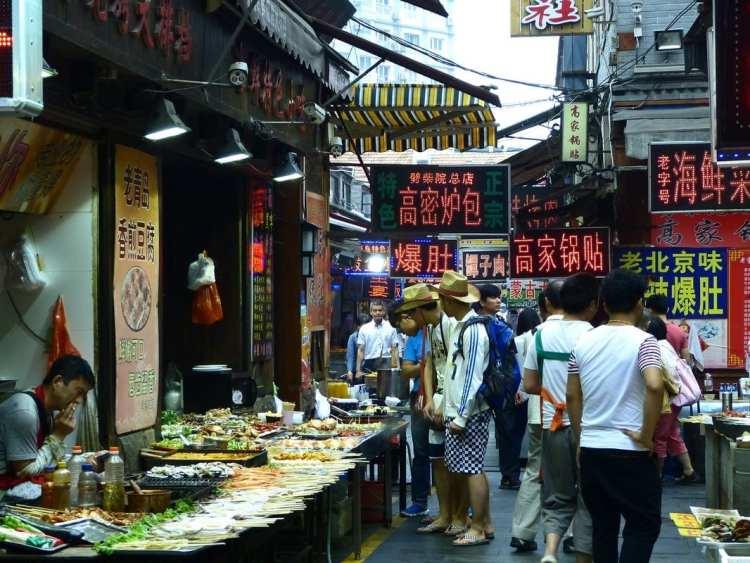 mercato di Qingdao, Shandong
