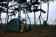 best island seoul camping